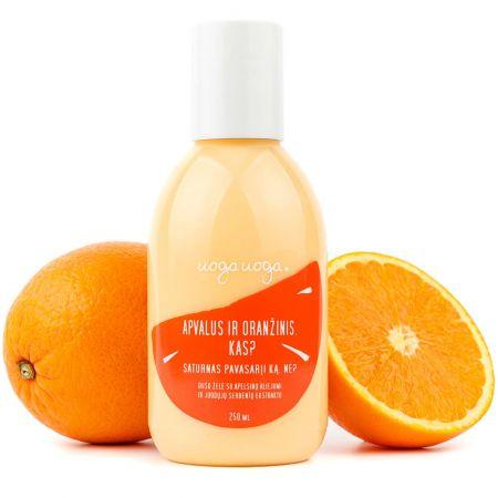 Apvalus ir oranžinis. Kas? | Dušo želės | Natūrali kosmetika | Uoga Uoga