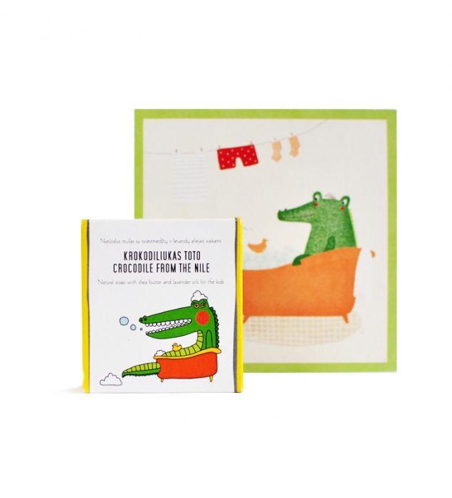 Krokodiliukas Toto | Muilai | Natūrali kosmetika | Uoga Uoga