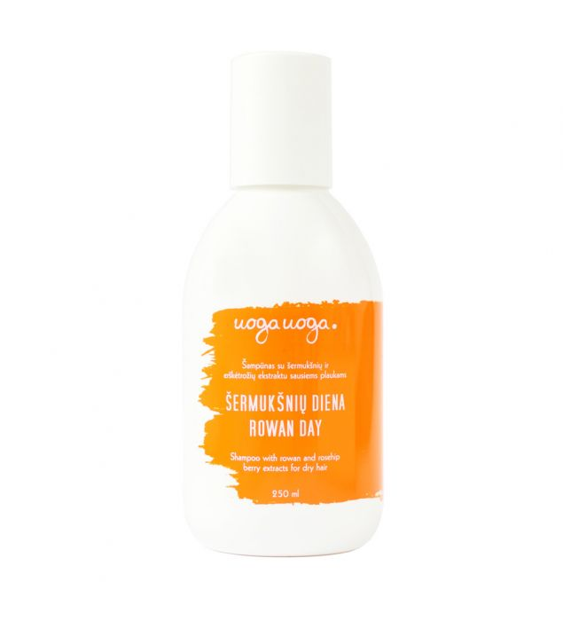 Šermukšnių diena | Šampūnai | Natūrali kosmetika | Uoga Uoga