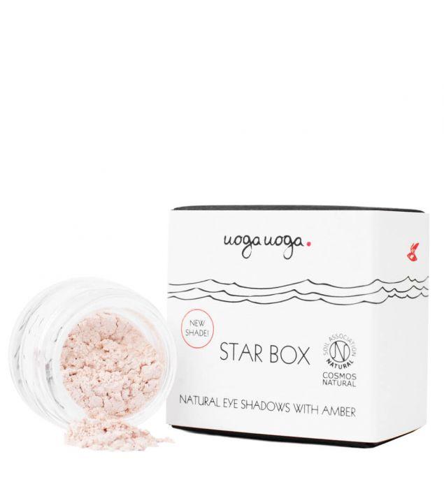 Žvaigždžių dėžutė | Akių šešėliai ir kontūro dažai | Natūrali kosmetika | Uoga Uoga