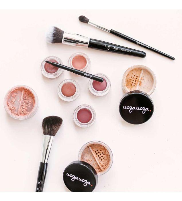 Skaistalų šepetėlis | Kontūravimui | Natūrali kosmetika | Uoga Uoga